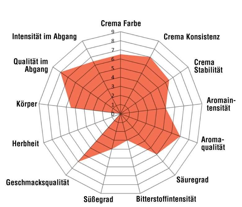 100% Arabica NERO - Bernini Mischung
