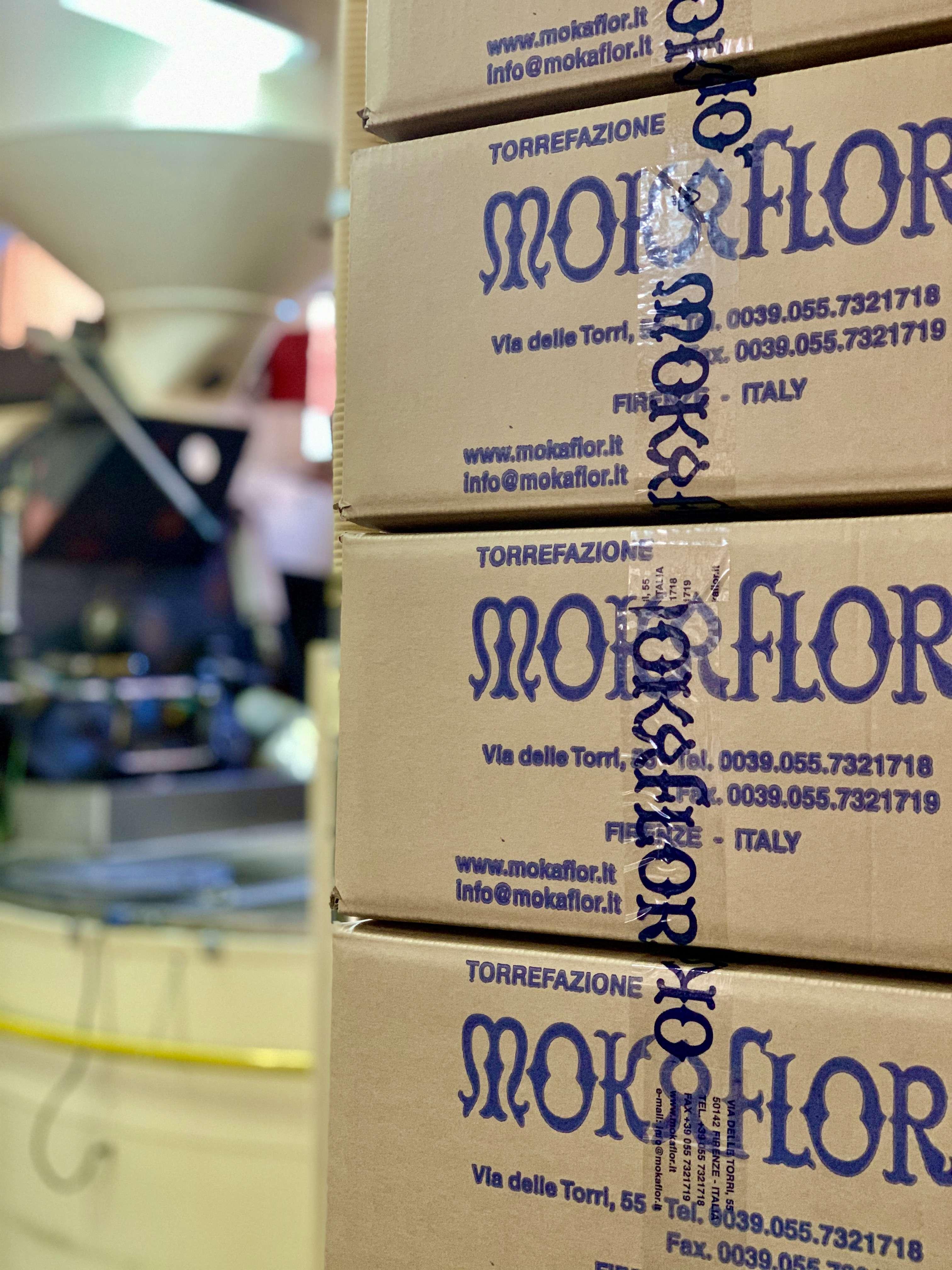 Mokaflor spendet Kaffee an die 'Gruppo Volontariato Vicenziano di Firenze'