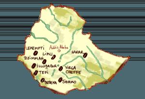 Die Länder des Kaffees - Äthiopien